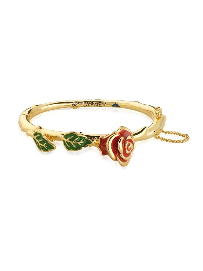 Couture Kingdom Couture Kingdom Arrmreif Disney Die Schöne und das Biest Magic Rose, Gelbgold