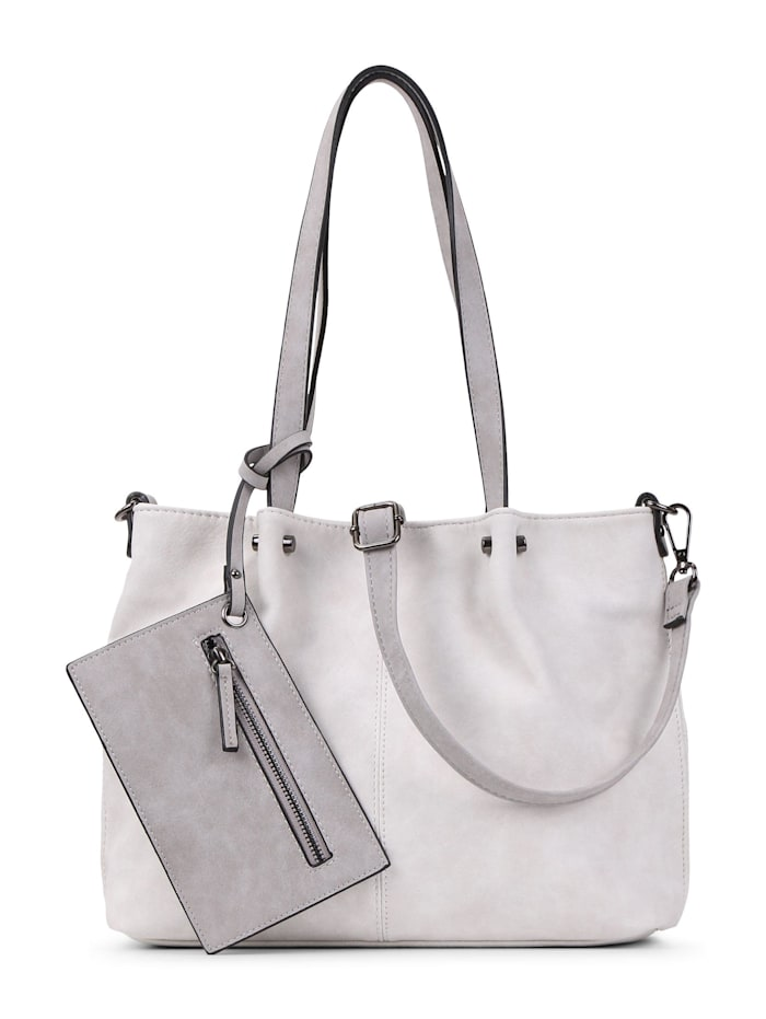 EMILY & NOAH EMILY & NOAH Shopper Bag in Bag Surprise EMILY & NOAH Shopper Bag in Bag Surprise Uni, ecru lightgrey 328
