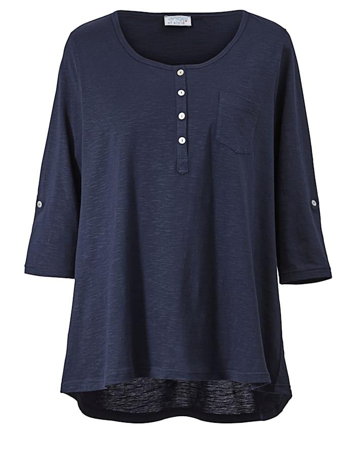 Shirt mit Knopfleiste