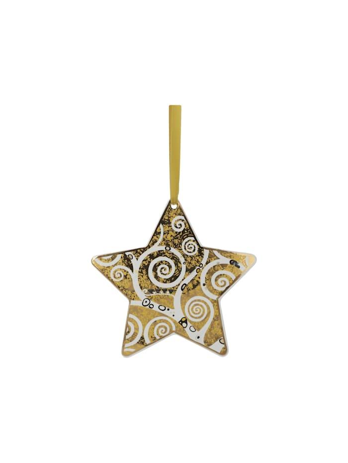 Goebel Hängeornament Gustav Klimt - Der Lebensbaum gold-weiß