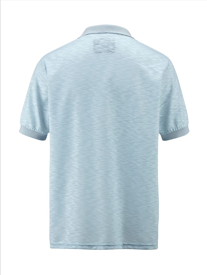 Poloshirt met onregelmatige structuur