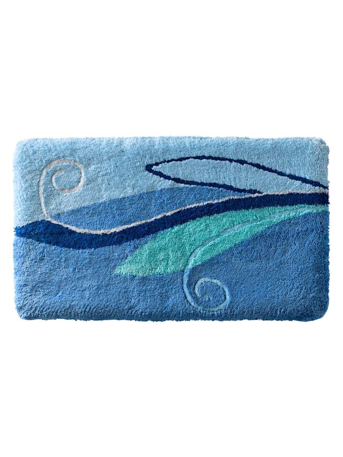 Webschatz Bademattenserie'Neapel', blau