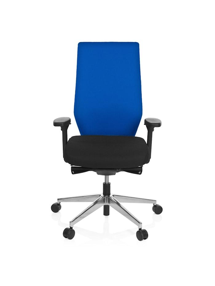 hjh OFFICE Profi Bürostuhl PRO-TEC 700, Schwarz / Blau
