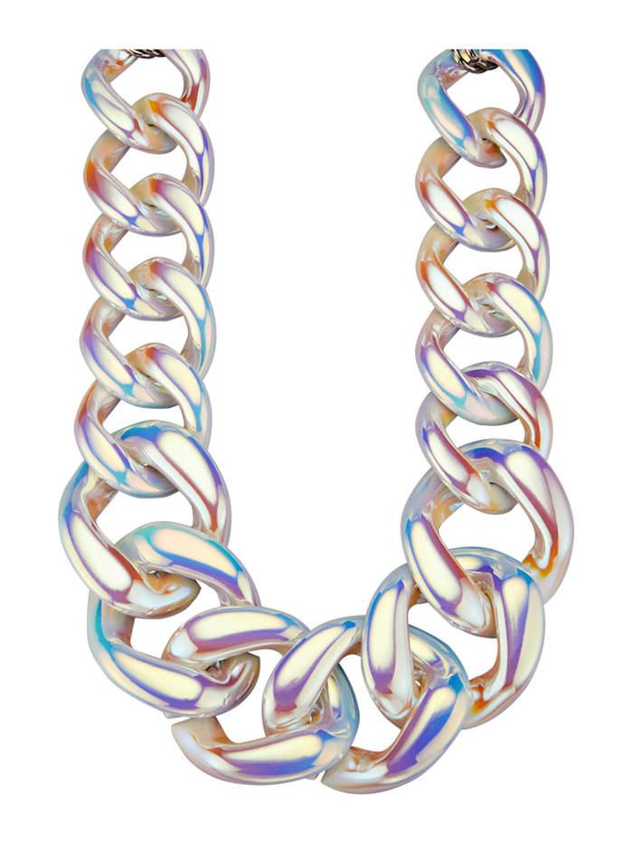 Halskette, Weiß