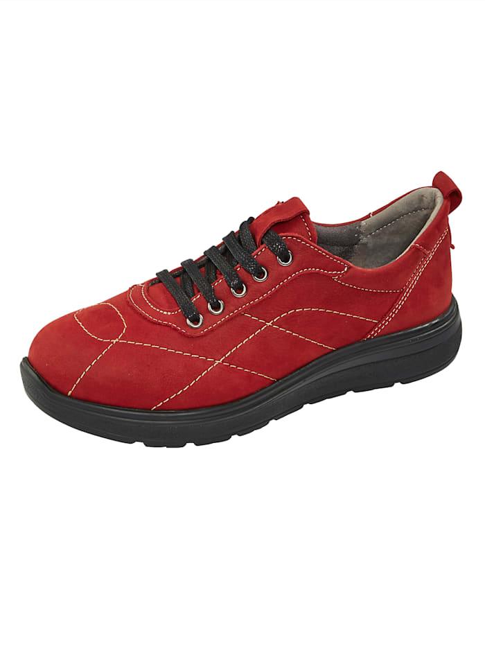 Naturläufer Schnürschuh, Rot