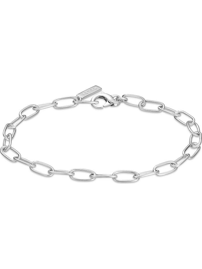 Jette JETTE Damen-Armband 925er Silber rhodiniert, silber