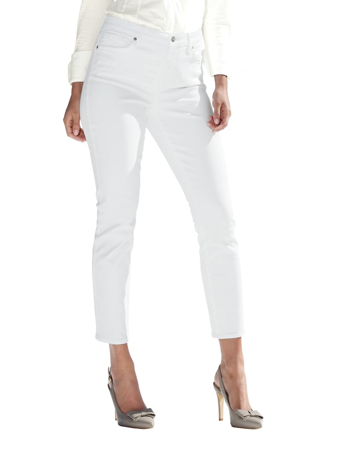 NYDJ Jeans met shaping effect, Offwhite