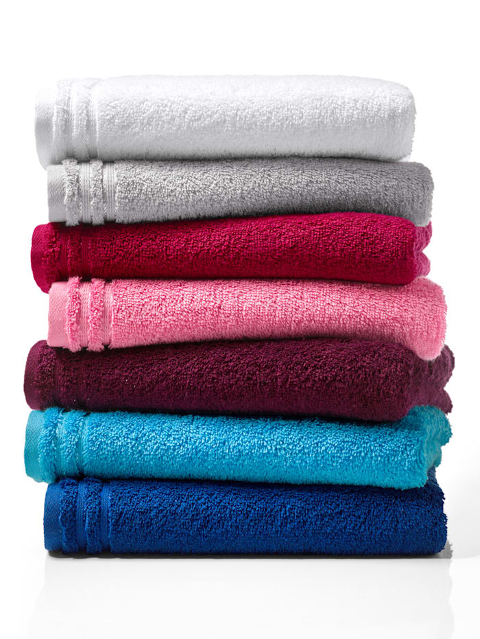 Handdoekenset effen