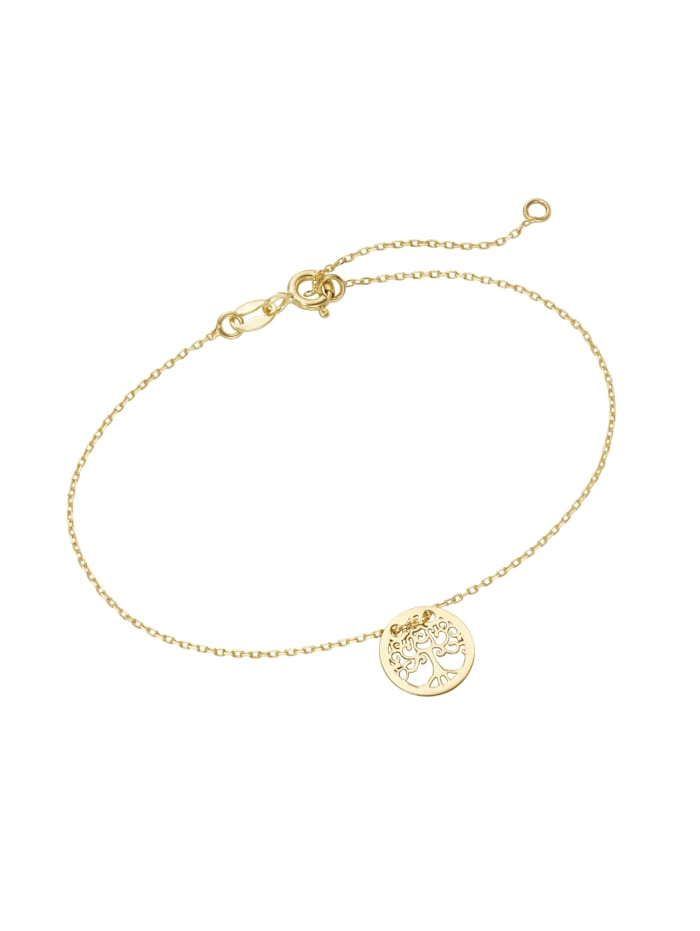 Luigi Merano Armband Lebensbaum, Gold 585, Gold