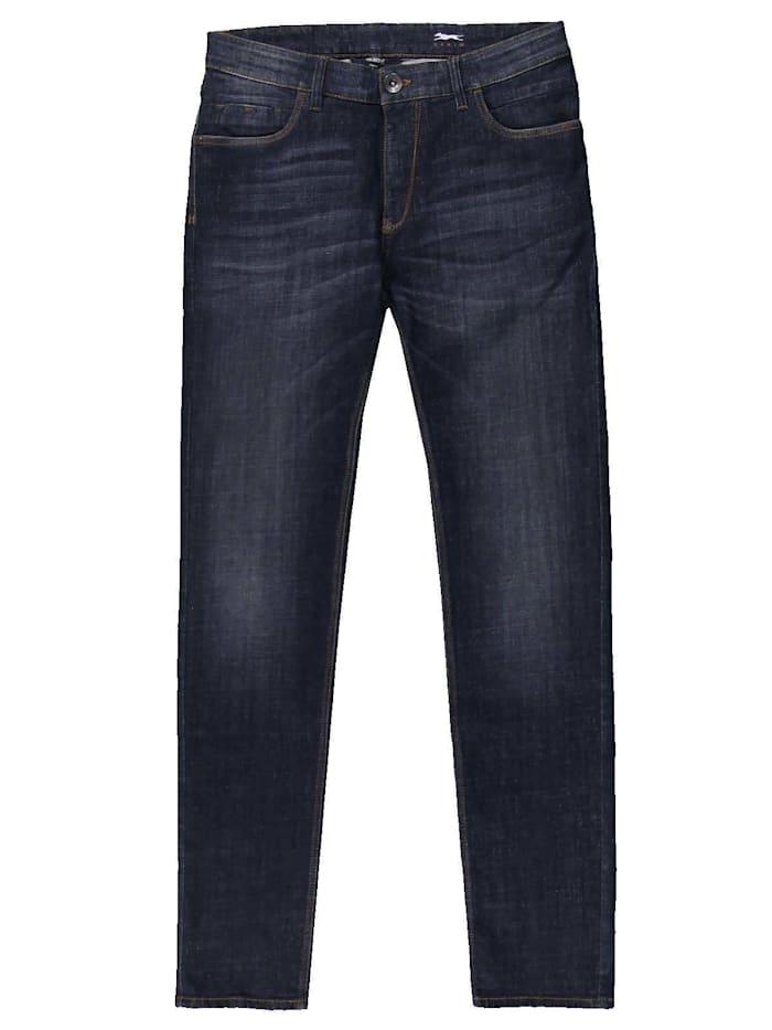Engbers Jeans 5-Pocket Superstretch, Indigoblau