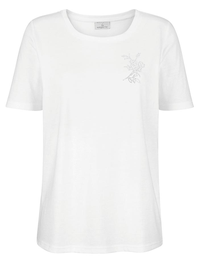T-shirt avec pierres fantaisie