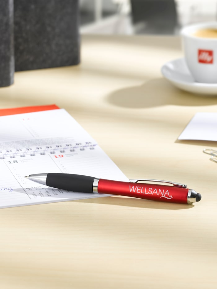 Touchpen-Kugelschreiber, Rot