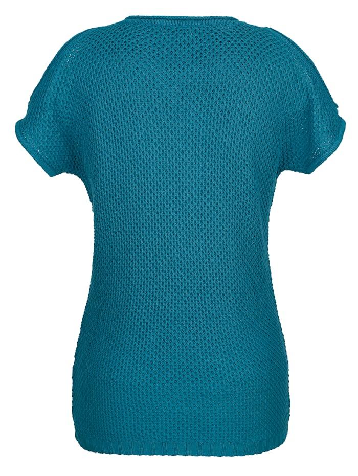 Strickshirt mit modischen Cut-Outs