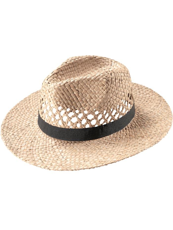 BABISTA Slamený klobúk v unisex prevedení, prírodná