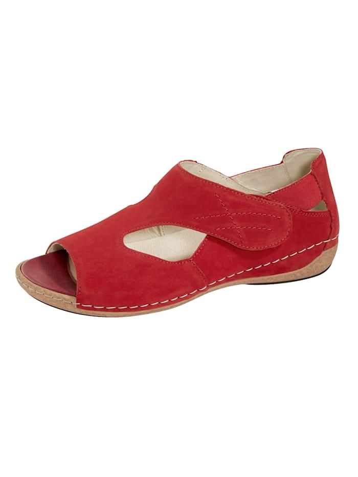 Waldläufer Sandalette, Rot