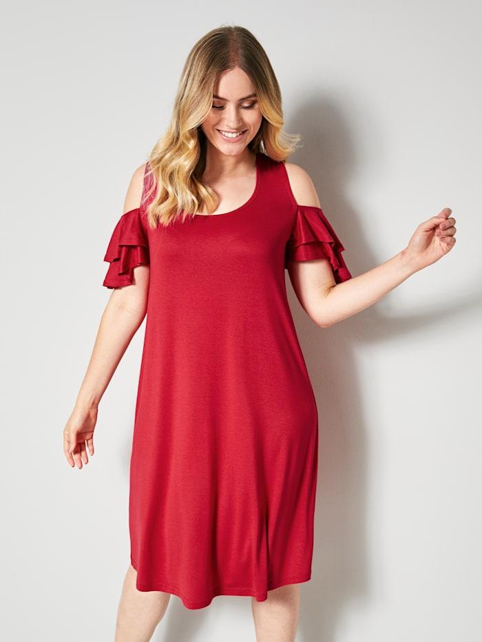 Kleid mit Volantsärmel