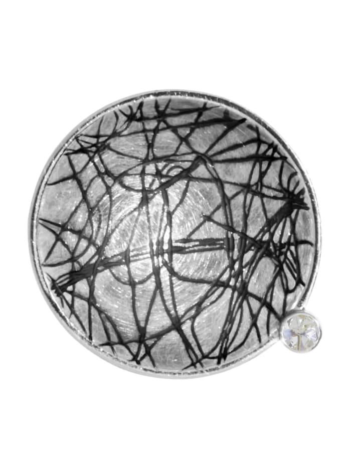 OSTSEE-SCHMUCK Anhänger - Gleiter 24 mm-Sarah Vicenza - Silber 925/000 - Zirkonia, silber