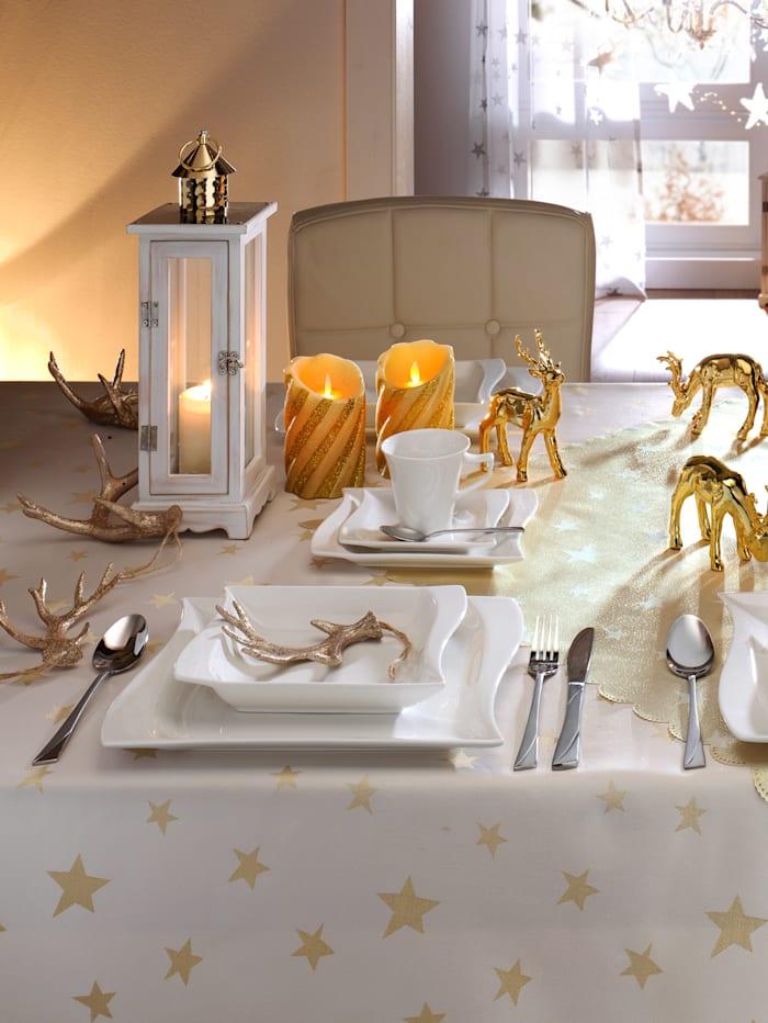 Webschatz Linge de table, Coloris argenté