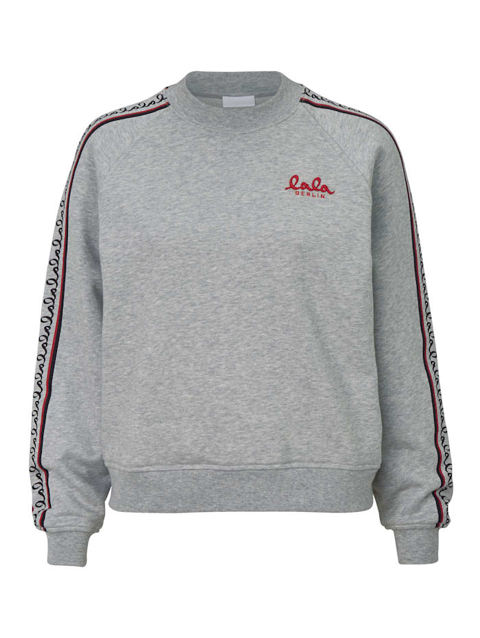 Lala Berlin Sweatshirt, Grau