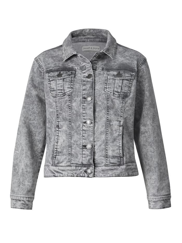 Džínsová bunda z módneho color denimu