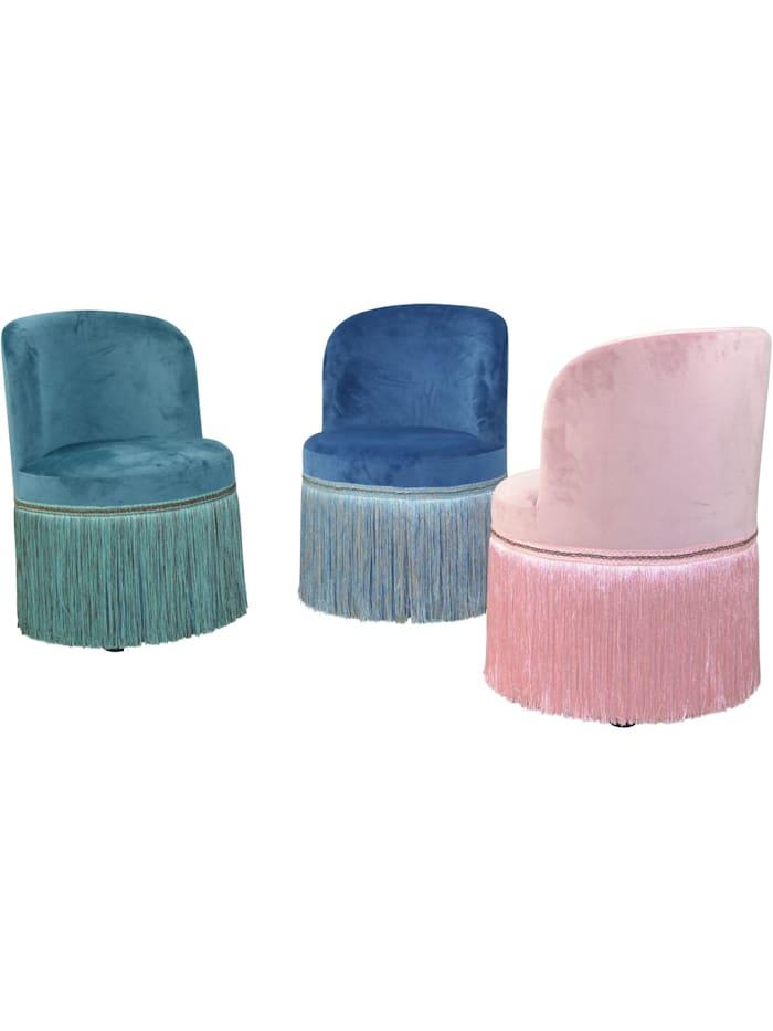 Möbel-Direkt-Online Polstersessel Sandy, blau