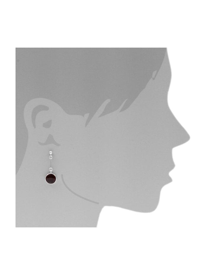 Ohrhänger - Classic 10 mm - Silber 925/000 - Bernstein