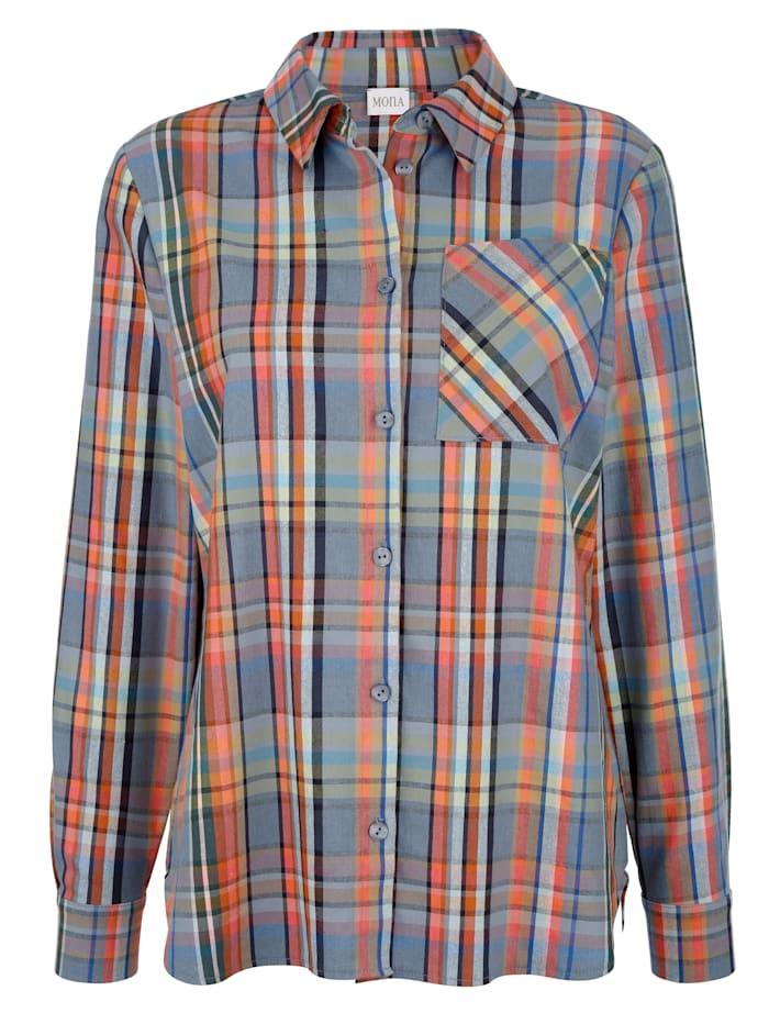 Hemdbluse aus Webkaro