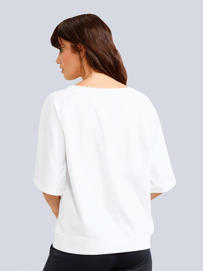 Sweatshirt mit weitem 3/4 Arm