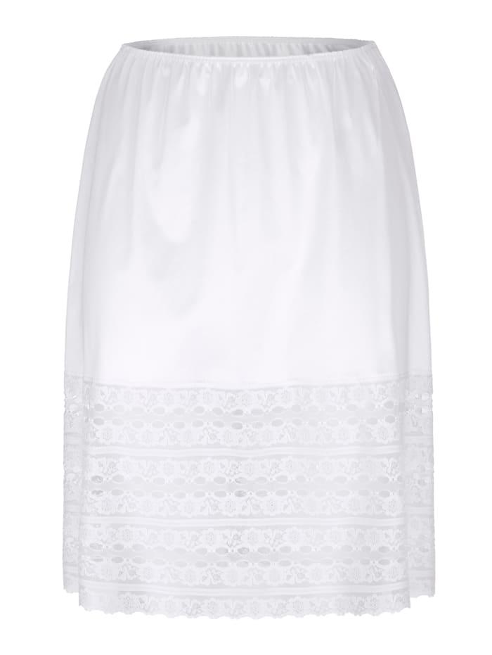 Petticoat set in an anti-static finish