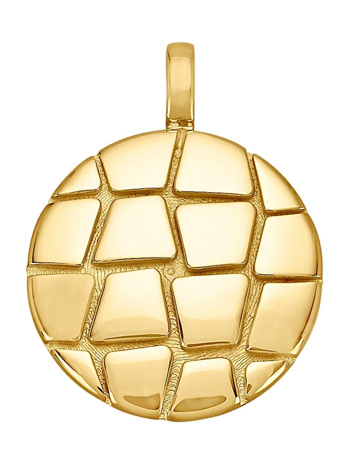 Diemer Gold Anhänger aus Gelbgold 585, Gelbgoldfarben