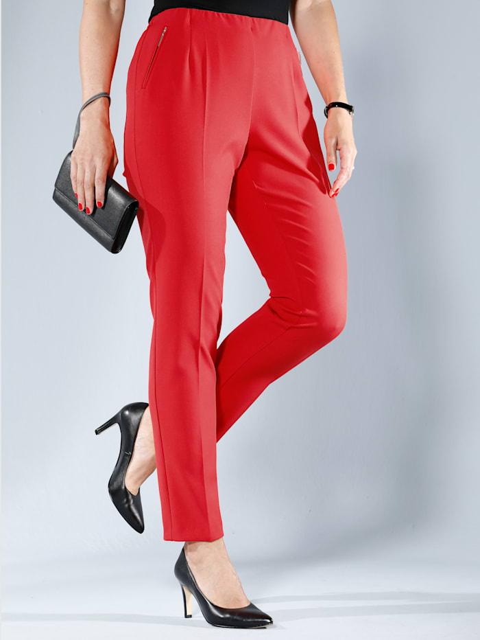 MIAMODA Hose in Super-Stretch-Qualität, Rot