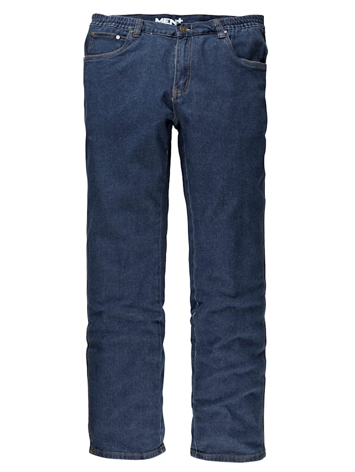 Men Plus Stretchjeans, Blue stone