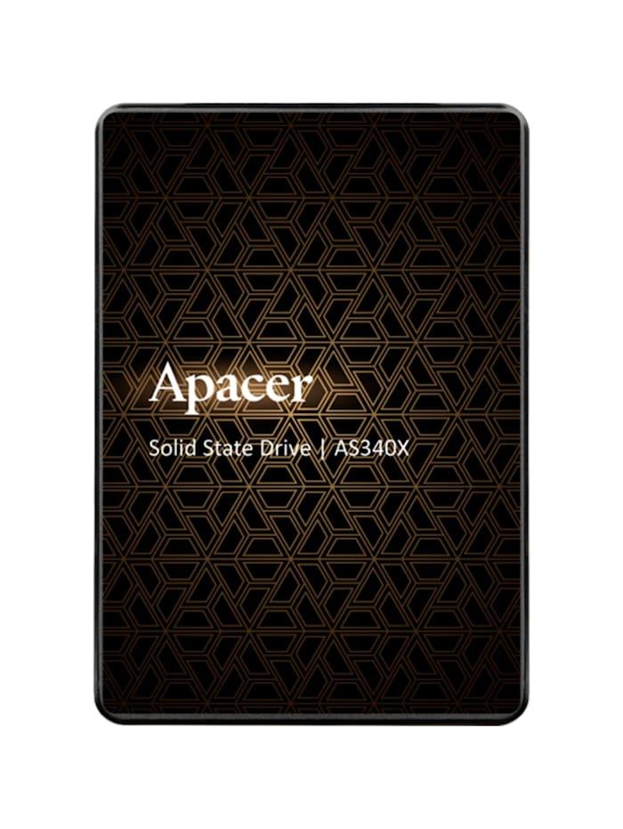 Apacer SSD AS340X 120 GB, Schwarz