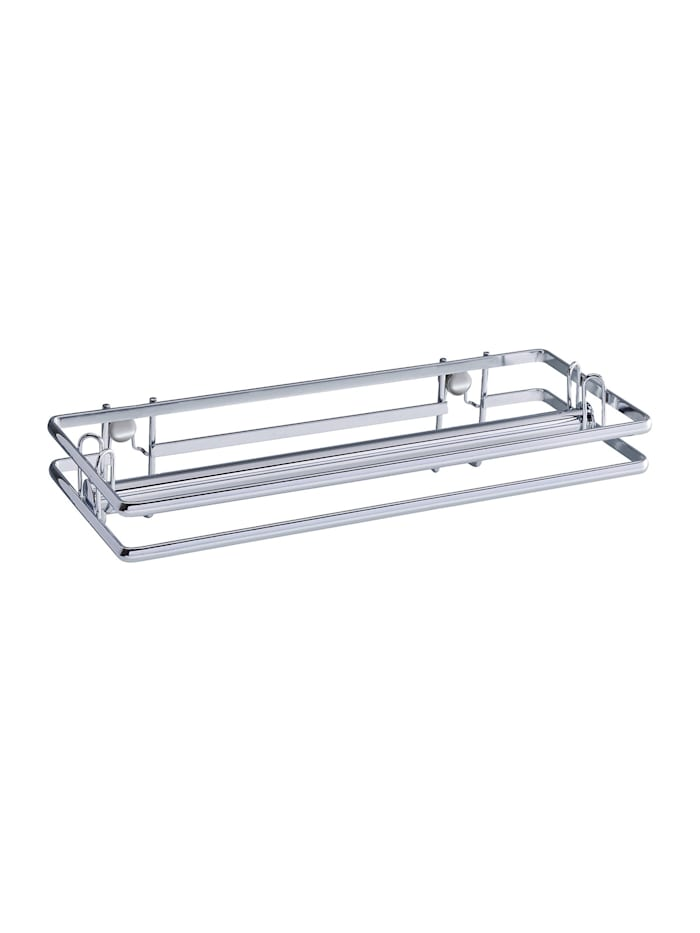 Wenko Vacuum-Loc® Küchenrollenhalter Style, Befestigen ohne bohren, Gestell: Silber glänzend
