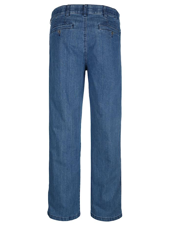 Jean à ceinture élastique