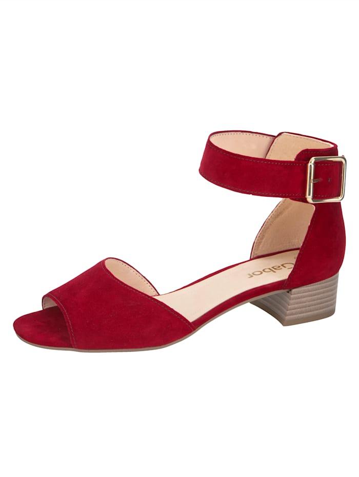 Sandales à bride cheville réglable