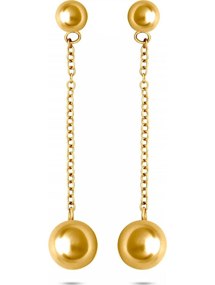 CHRIST C-Collection CHRIST Damen-Ohrstecker 375er Gelbgold, gelbgold