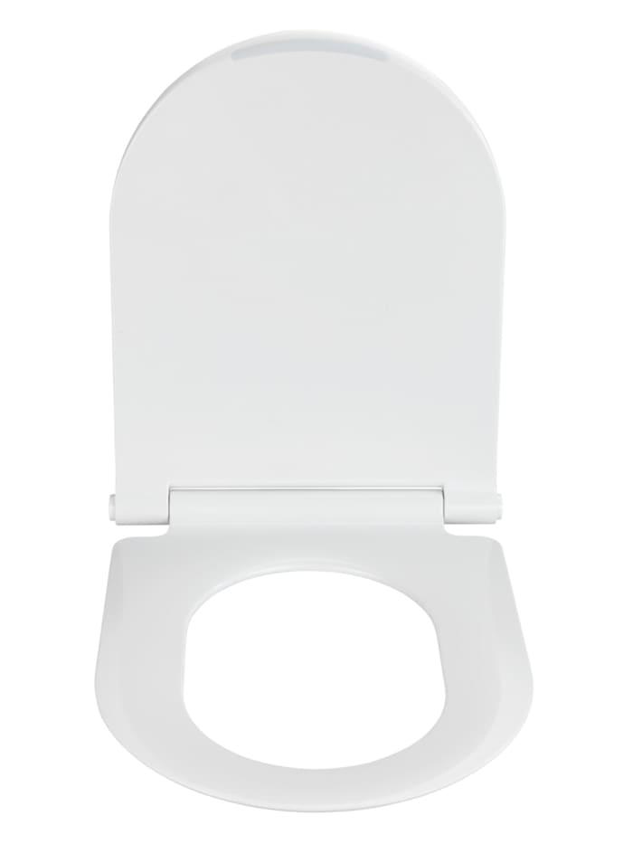 Premium WC-Sitz Nuoro, aus antibakteriellem Duroplast, mit Absenkautomatik