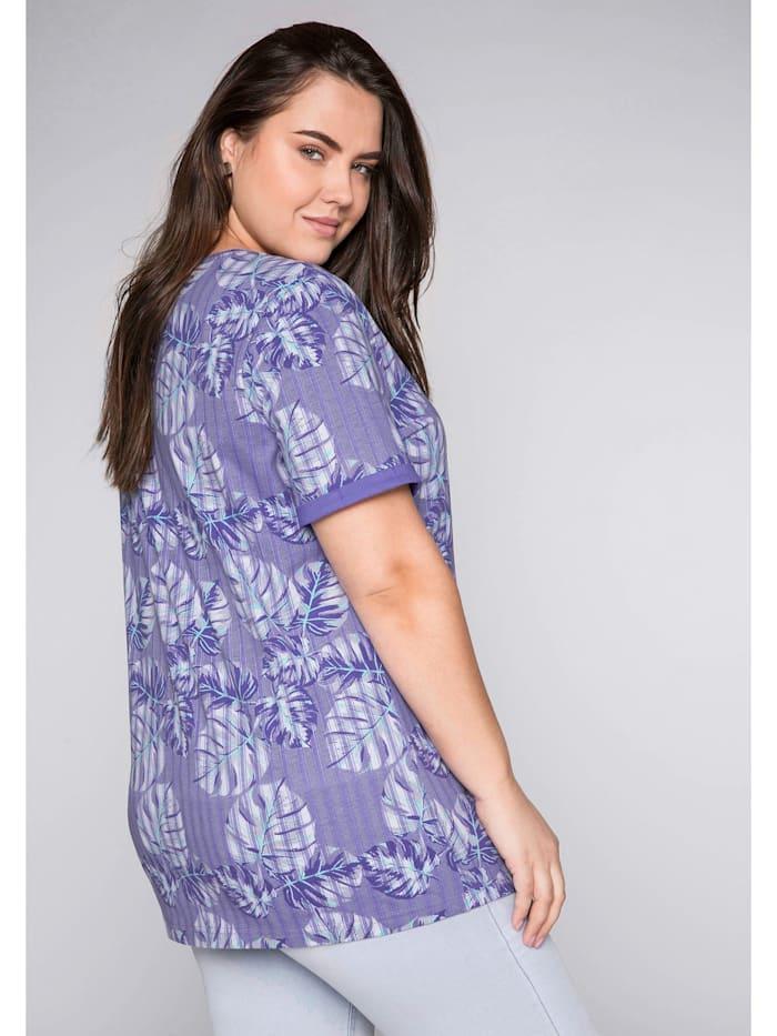 Sheego T-Shirt mit Alloverdruck