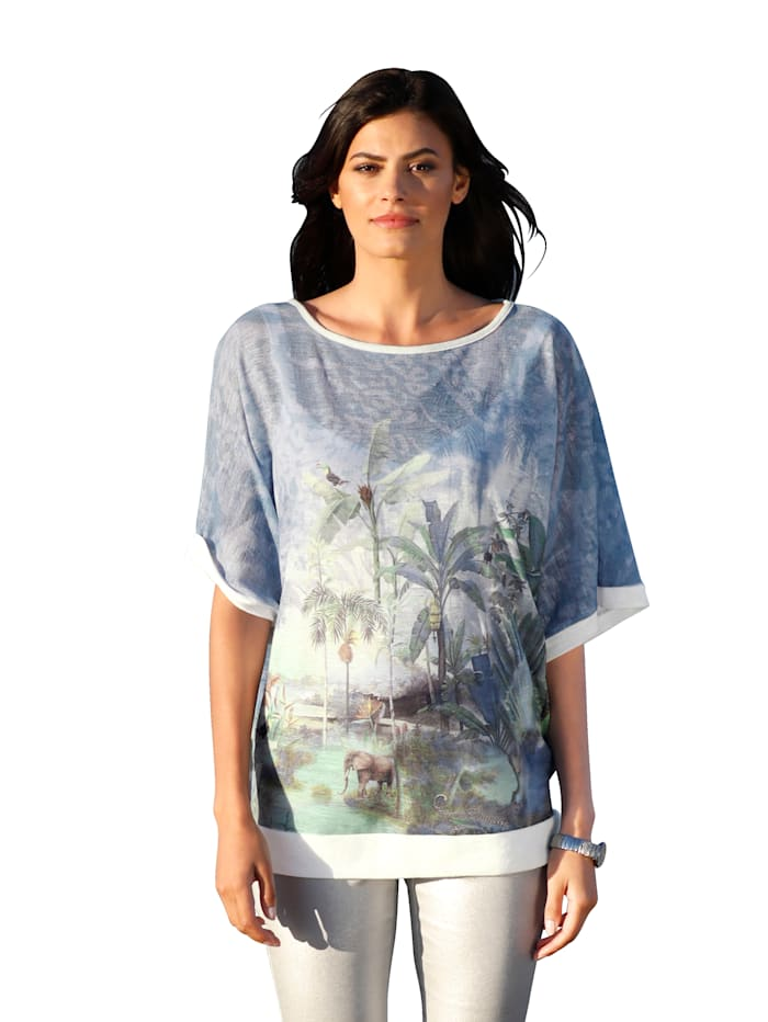 AMY VERMONT Shirt met dessin, Multicolor