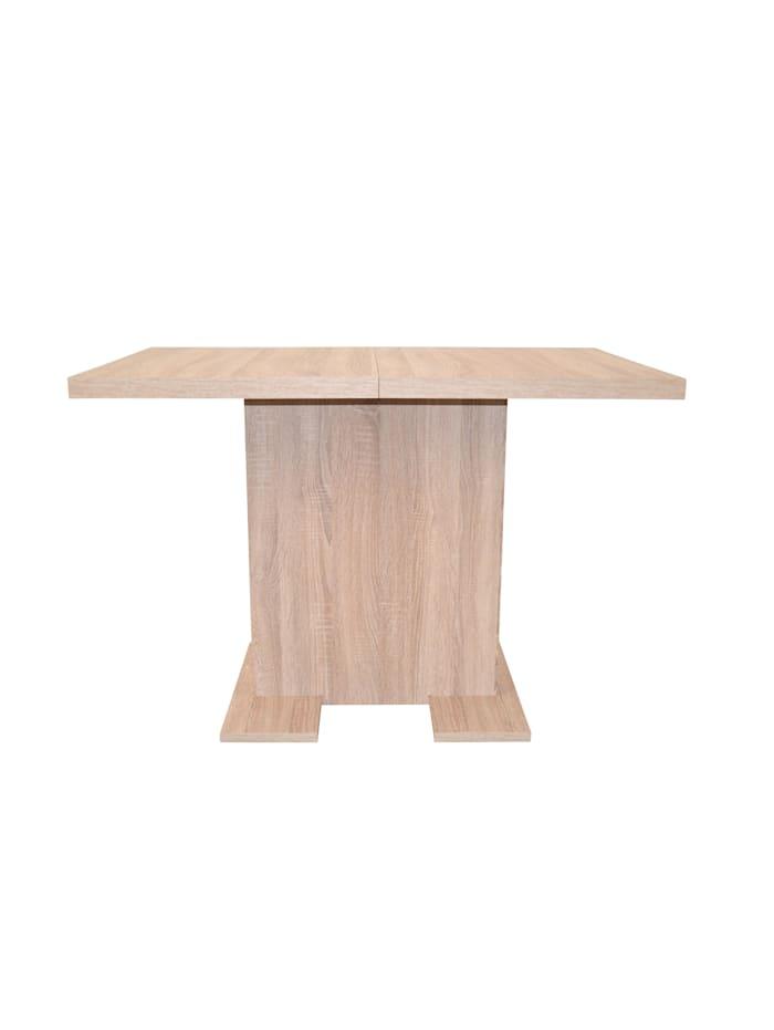 Säulentisch 110 - 150 cm Sandra