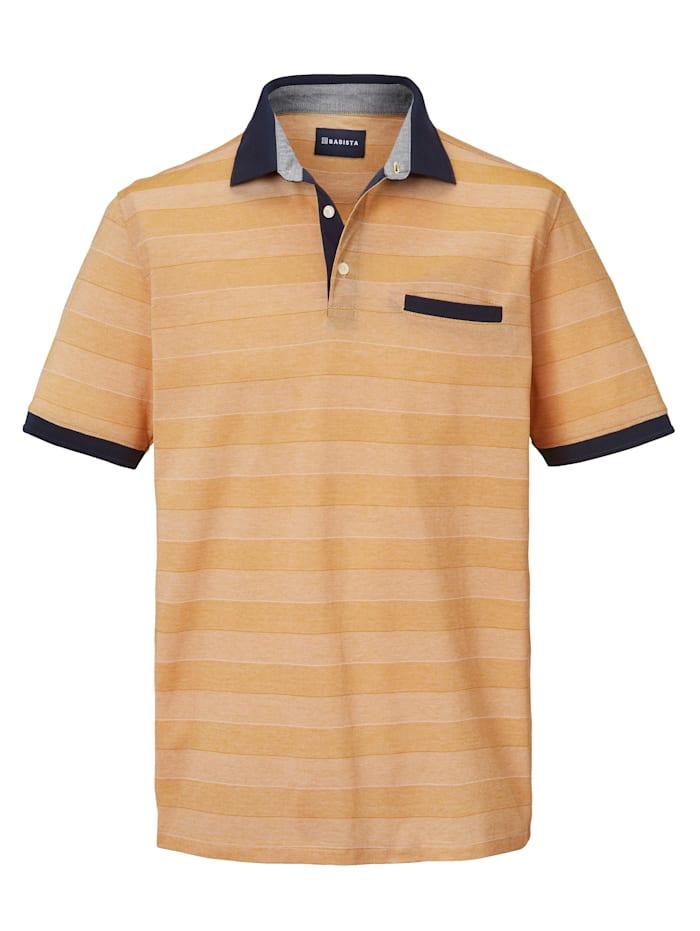BABISTA Poloshirt aus mercerisierter Baumwolle, Gelb