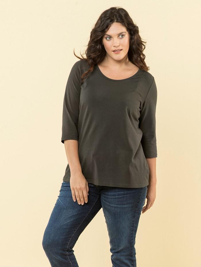 Janet & Joyce Basic Shirt, Khaki