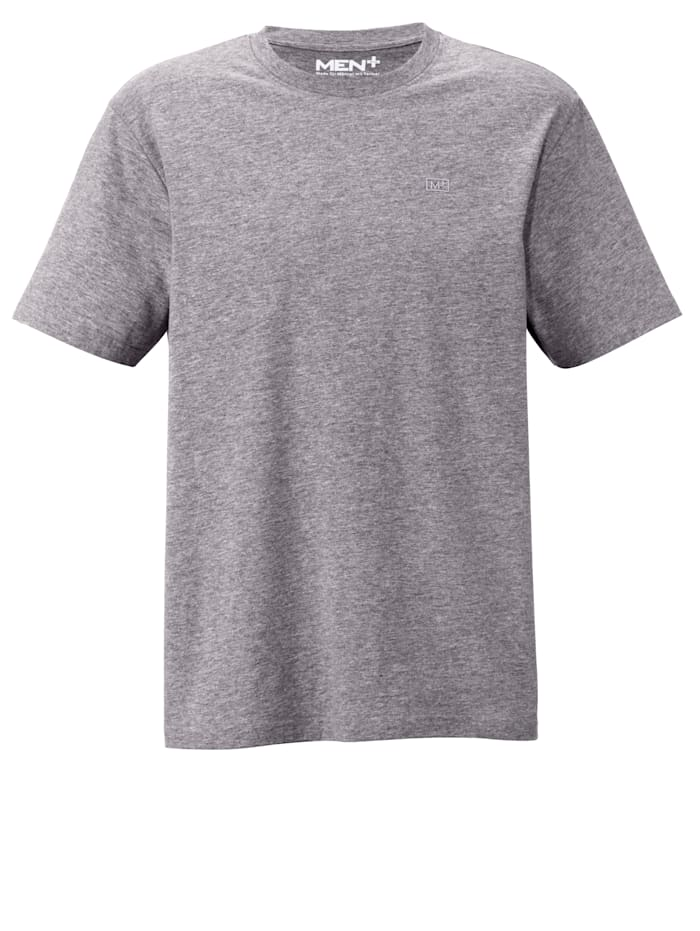 Men Plus T-Shirt, Grau