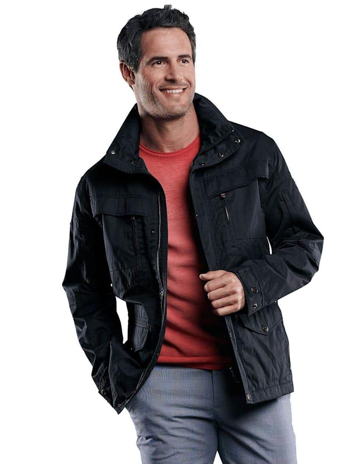Engbers Rustikale Jacke mit Taschen, Saphirblau