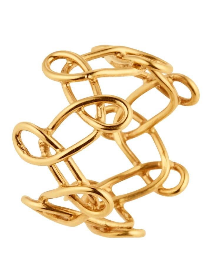VIKA Jewels Ring, Gelbgoldfarben