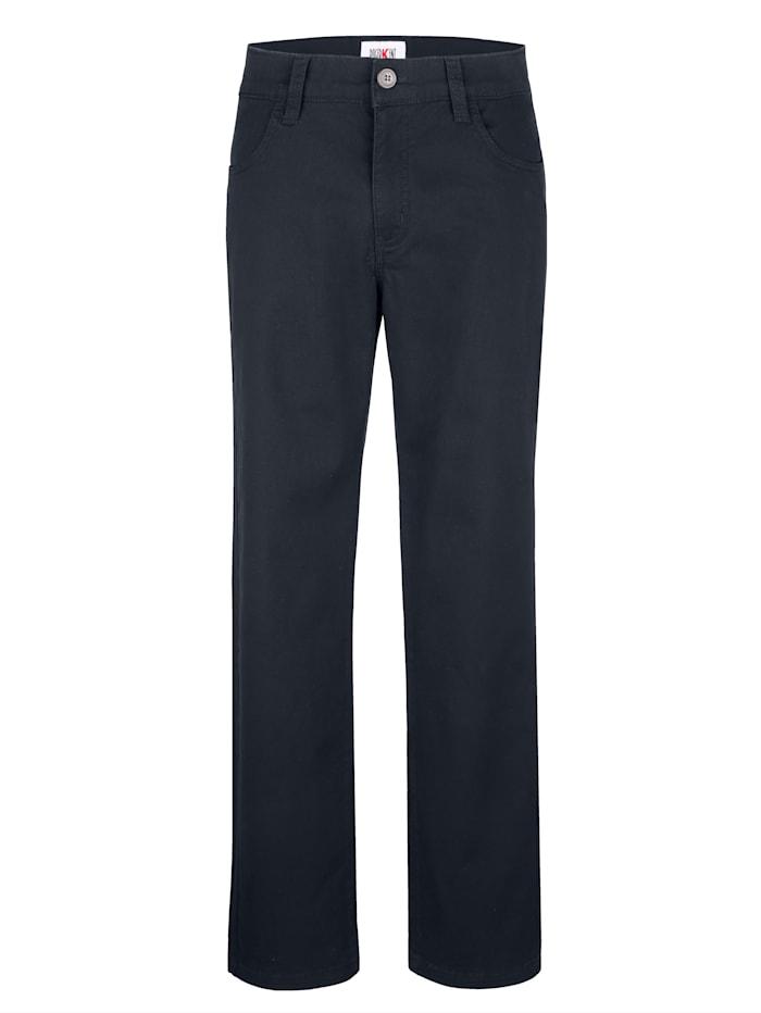 Roger Kent Swing-Pocket Hose in Swing-Pocket Form, Marineblau