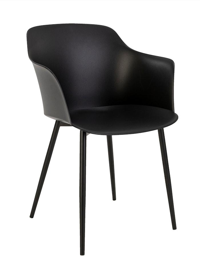 IMPRESSIONEN living Outdoor-Stuhl, schwarz