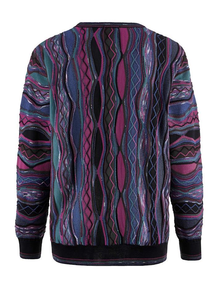 Pullover mit besonderer 3D Struktur