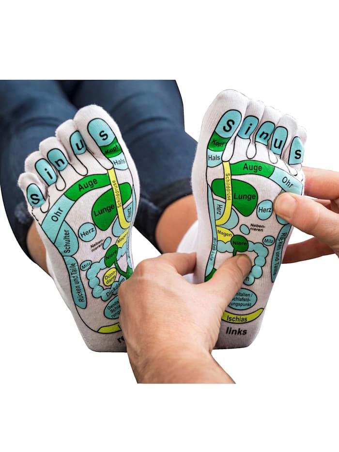 Masážne ponožky s reflexnými zónami
